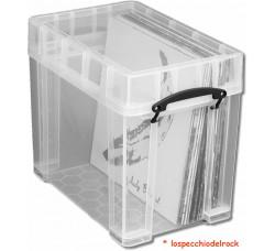 Contenitore  Antiurto di Plastica per 50 LP - IW-18219XL