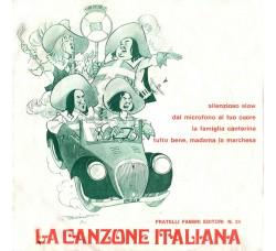 Artisti Vari - La Canzone Italiana - N° 24 - 45 RPM