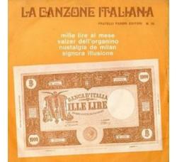 Artisti Vari - La Canzone Italiana - N° 30 - 45 RPM