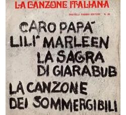 Artisti Vari - La Canzone Italiana - N° 29 - 45 RPM