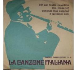 Artisti Vari - La Canzone Italiana - N° 32 - 45 RPM