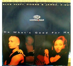 2 Unlimited ‎– Do What's Good For Me - LP/Vinile