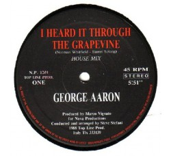 George Aaron ‎– I Heard It Through The Grapevine - LP/Vinile