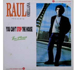 Raul Orellana – You Can't Stop The House - LP/Vinile