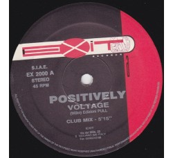 Voltage ‎– Positively - LP/Vinile