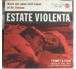 Colonna Sonora - Temptation / Estate Violenta - 45 RPM