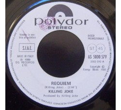 Killing Joke / Dr. Hook ‎– Requiem / Girls Can Get It - 45 RPM