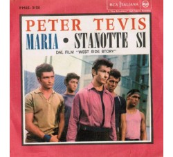 Peter Tevis ‎– Maria / Stanotte Si - 45 RPM *