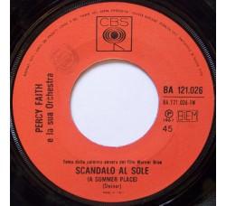 Percy Faith E La Sua Orchestra – Scandalo Al Sole (A Summer Place) / Go-Go-Po-Go - 45 RPM *