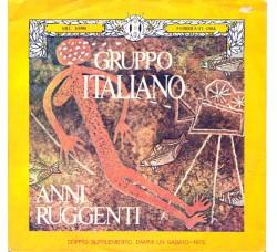 Gruppo Italiano – Anni Ruggenti - 45 RPM