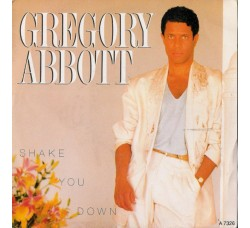 Gregory Abbott – Shake You Down - 45 RPM