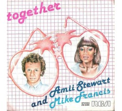Amii Stewart And Mike Francis ‎– Together - 45 RPM