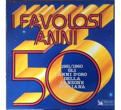 Favolosi anni 50/60 - Cofanetto vuoto per 10 dischi