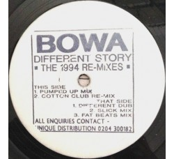 Bowa – Different Story (The 1994 Re-Mixes)