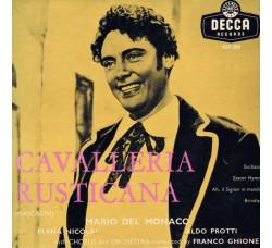 Pietro Mascagni, Elena Nicolai, Mario del Monaco, Aldo Protti – Excerpts From Cavalleria Rusticana