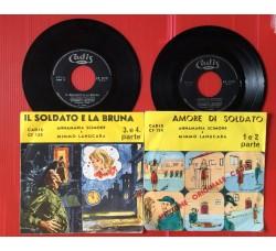 Annamaria Scimone, Mimmo Lanucara - Amore di Soldato/Il soldato e la bruna 1,2,3,4 parte