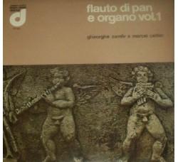 Gheorghe Zamfir e Marcel Cellier – Flauto Di Pan E Organo Vol. 1