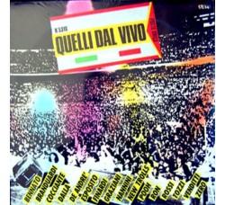 Artisti Vari Fabrizio de Andrè, Vasco Rossi Live - Quelli Dal Vivo -  2 LP/Vinile