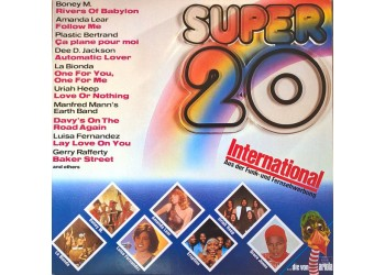 Artisti vari -  Super 20 International