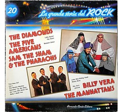 The Diamonds / The Five Americans / Sam The Sham & The Pharaohs / Billy Vera / The Manhattans 