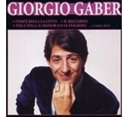 Giorgio Gaber - Il Meglio Di Giorgio Gaber