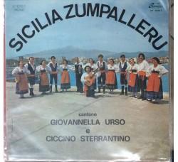 Giovannella Urso e Ciccino Sterrantino - Sicilia Zumpalleru - LP/Vinile