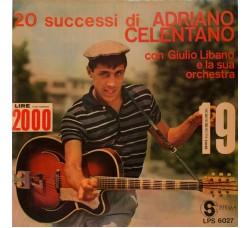 Adriano Celentano Con Giulio Libano E La Sua Orchestra – 20 Successi LP/Vinile