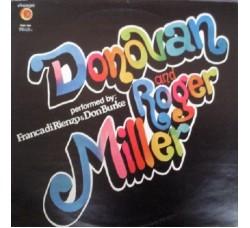 Franca Di Rienzo & Don Burke – Donovan And Roger Miller - LP/Vinile