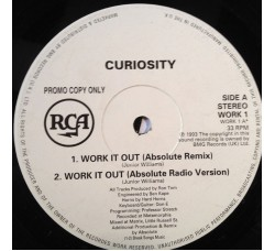 Curiosity ‎– Work It Out - LP/Vinile