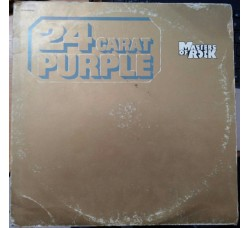 Deep Purple ‎– 24 Carat Purple - LP/Vinile
