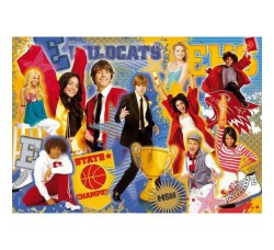 Clementoni - 272333 High School Musical, Puzzle da 104 pezzi