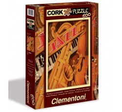 Clementoni - Puzzle Music Musica Collection - Jazz