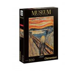Clementoni - Puzzle Museum Collection  - L'Urlo