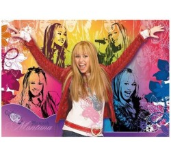 Clementoni - 272698 Hannah Montana, Puzzle da 104 pezzi
