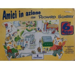 Clementoni - Richard Scarry - Amici in Vacanza - Vintage 1995