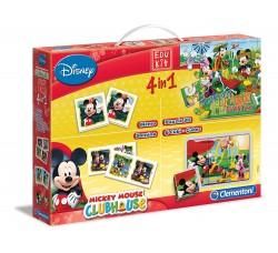 Clementoni 13795 - Edukit 4 in 1 Mickey Mouse