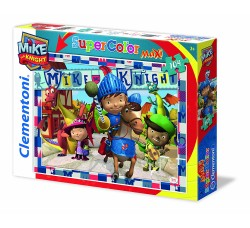 Clementoni 23652 - Maxi Puzzle Mike The Knight Be a Knight, 104 Pezzi