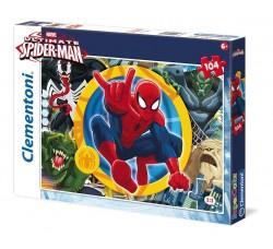 Clementoni 27864 - Puzzle Ultimate Spiderman 1, 104 Pezzi