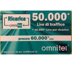 Ommitel Ricarica euro 50,00
