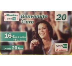 Megan Gale - Ommitel ricarica euro 20,00