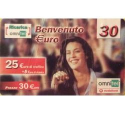 Megan Gale - Ommitel ricarica euro 30,00