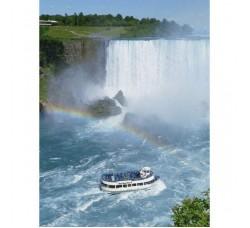 Clementoni 30159 - Cascate Niagara Puzzle 500 Pezzi