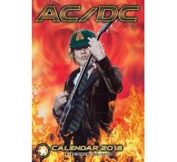 AC/DC - Calendario Calendar 2018
