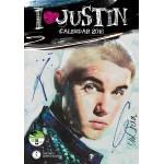 Justin  Bieber -  Calendario Ufficiale  limited 2018