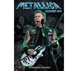 Metallica - Calendario  Calendar 2018