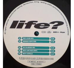 "Blair – Life?  12"" Singles"