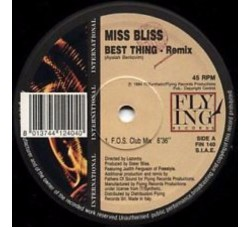 Miss Bliss ‎– Best Thing (Remix) -