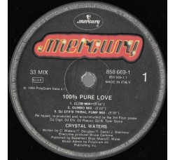 Crystal Waters ‎– 100% Pure Love -