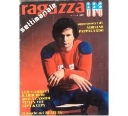 Ragazza in - Adriano Pappalardo - BEATLES -  Contiene POSTER