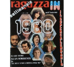 Ragazza In - Calendario 1980 - Contiene POSTER
